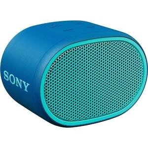 Портативная колонка Sony SRS-XB01 blue портативная акустическая система sony srs xb01 w white