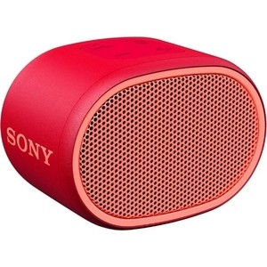 Портативная колонка Sony SRS-XB01 red портативная акустическая система sony srs xb01 w white