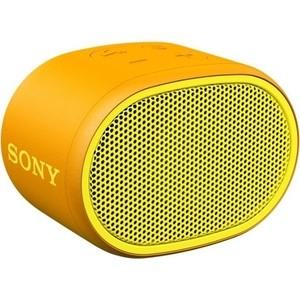 Портативная колонка Sony SRS-XB01 yellow портативная акустическая система sony srs xb01 w white
