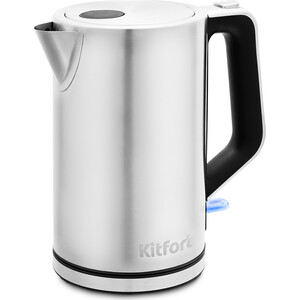Чайник электрический KITFORT KT-637 чайник электрический kitfort kt 609 серебристый черный