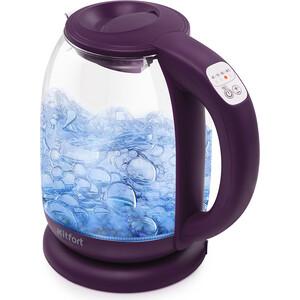 цена на Чайник электрический KITFORT KT-640-5 ежевичный