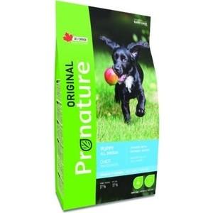Сухой корм Pronature Original Puppy All Breeds Chicken with Oatmeal Recipe с курицей и овсом для щенков всех пород 20кг (102.489) (OD-10)