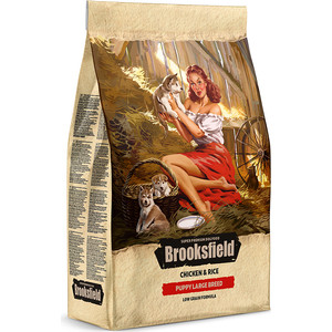 Сухой корм BROOKSFIELD Puppy Large Breed Low Grain Chicken & Rice низкозерновой с курицей и рисом для щенков 3кг (5651011)