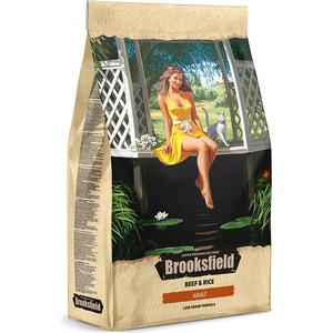 Сухой корм BROOKSFIELD Adult Cat Low Grain Beef & Rice низкозерновой с говядиной и рисом для взрослых кошек 7,5кг (5651112)