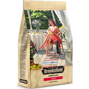 Сухой корм BROOKSFIELD Adult Cat Indoor Low Grain Turkey & Rice низкозерновой с индейкой и рисом для взрослых домашних кошек 2кг (5651131)