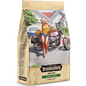Сухой корм BROOKSFIELD Adult Cat Hairball Control Low Grain Beef & Rice низкозерновой с говядиной и рисом для кошек 7,5кг (5651142)