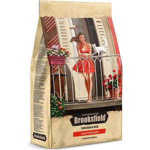 Сухой корм BROOKSFIELD Adult Cat Light/Sterilized Low Grain Chicken & Rice низкозерновой с курицей и рисом для стерилизованных кошек 7,5кг (5651152)