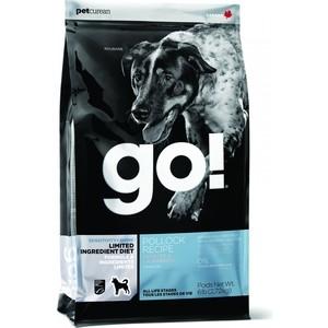 Сухой корм GO! NATURAL Holistic Dog Sensitivity+ Shine Grain+Gluten Free Pollock Recipe беззерновой с минтаем для щенков и собак 11,3кг (48539)