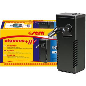 Очиститель SERA PRECISION Algovec+UV ультрафиолетовый для аквариумов 5Вт скиммер sera marin precision protein skimmer ps 130 для морских аквариумов до 150л
