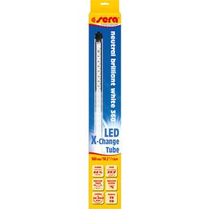Лампа SERA PRECISION LED Neutral Brilliant White LED X-Change Tube светодиодная 360мм 7W 20V для аквариумов лампа sera precision daylight brilliant люминесцентная т8 38вт 105см для аквариумов