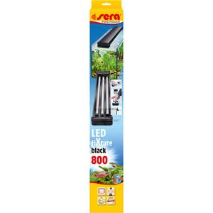 Светильник SERA PRECISION LED fiXture 800 black (черный) для аквариумов