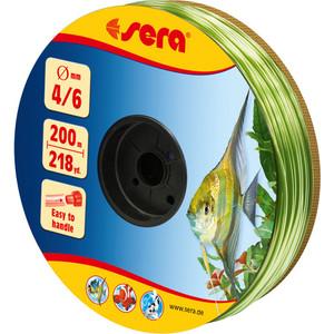 Шланг SERA Ф 4/6мм 200м зеленый