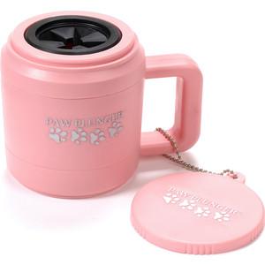 Лапомойка PAW PLUNGER малая розовая (PAW111)