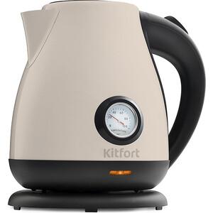 Чайник электрический KITFORT KT-642-3, белый