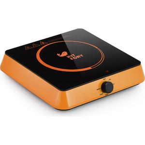 лучшая цена Индукционная плитка KITFORT KT-113-3, оранжевая