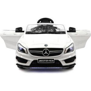 Электромобиль Hollicy Mercedes CLA45 AMG LUXURY White 12V 2.4G - SX1538-E