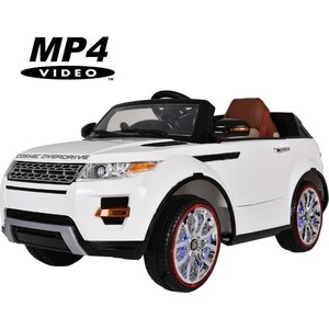 Электромобиль Hollicy Range Rover Luxury White MP4 12V - SX118-S