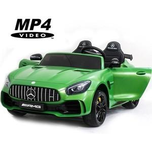 Электромобиль Harleybella Mercedes-Benz GT R 4x4 MP3 - HL289-MATTE-GREEN-4WD