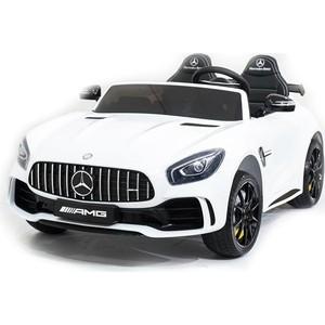 Электромобиль Harleybella Mercedes-Benz GT R 4x4 MP3 - HL289-WHITE-4WD электромобиль harleybella mercedes benz amg gt r 2 4g black hl288