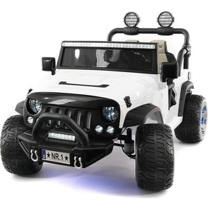 Электромобиль Hollicy Jeep Wrangler White 2WD - SX1718-S
