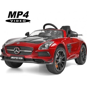 цена на Электромобиль Hollicy Mercedes-Benz SLS AMG Red Carbon Edition MP4 - SX128-S