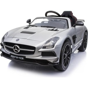 Электромобиль Hollicy Mercedes-Benz SLS AMG Silver - SX128-S