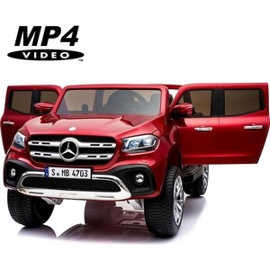 Электромобиль XMX Mercedes-Benz X-Class 4WD MP4 - XMX606-RED-PAINT-MP4 диск колесный r18 mercedes a4704010300 для mercedes benz x class 2017