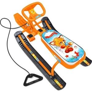 купить Снегокат Ника ТИМКА СПОРТ 2 (высота 420 мм) Оранжевый каркас TC/CL по цене 1442.1 рублей