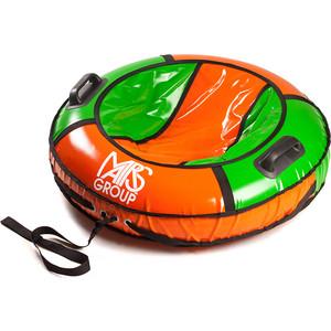 цены Тюбинг Сайма Комфорт D-90 см Зелено-Оранжевый К90-13
