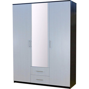 Шкаф Шарм-Дизайн Уют 150x52x200 венге + бодега белая