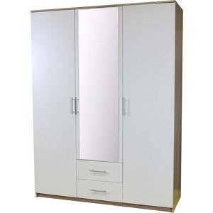Шкаф Шарм-Дизайн Уют 150x52x200 дуб сонома + белый