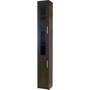 Книжный шкаф Шарм-Дизайн Симфония-2 30x30x220 венге