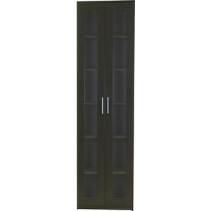 Книжный шкаф Шарм-Дизайн Симфония-1 60x30x220 венге