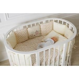 Кроватка Incanto Gio 9 в 1 белая