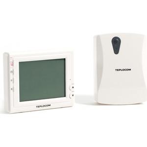 Термостат Teplocom комнатный TS-Prog-2AA/3A-RF (915)