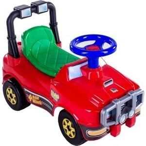 Автомобиль-каталка Molto 62857 Джип красный светильник садовый автомобиль красный 31 5х16х14см