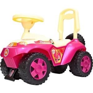 Каталка машинка RT ОР198 Ориоша с клаксоном розовый каталка мотоцикл rt скутер розовый ор502