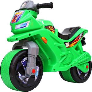 Каталка-мотоцикл RT ОР501в6 беговел Racer RZ 1, цвет зеленый