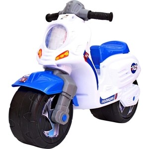 Каталка-мотоцикл RT ОР502 беговел СКУТЕР Полиция каталка мотоцикл rt скутер розовый ор502