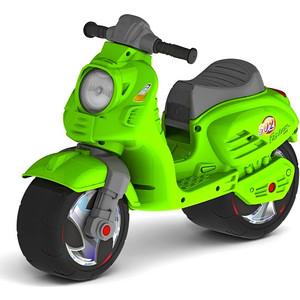 Каталка-мотоцикл RT ОР502 беговел СКУТЕР цвет зеленый каталка мотоцикл rt скутер розовый ор502