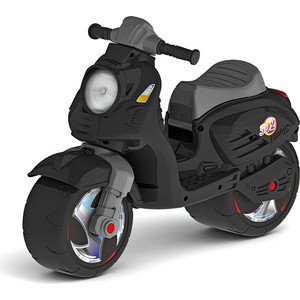 Каталка-мотоцикл RT ОР502 беговел СКУТЕР цвет черный цена