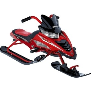 Снегокат Yamaha YMC17001X VIPER SNOW BIKE красный снегокат snow moto apex snow bike titanium до 40 кг синий пластик металл ym13001