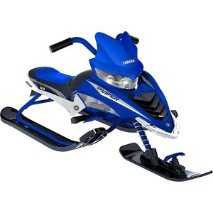Снегокат Yamaha YMC17001X VIPER SNOW BIKE синий снегокат snow moto apex snow bike titanium до 40 кг синий пластик металл ym13001