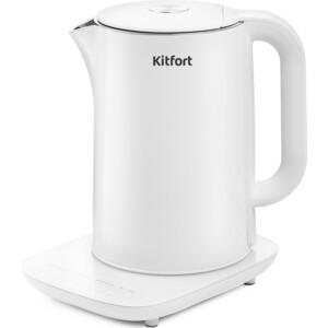 Чайник электрический KITFORT KT-629-1, белый