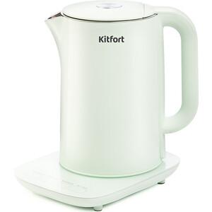 Чайник электрический KITFORT KT-629-2, мятный