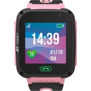 Детские умные часы JET Kid Connect Pink умные часы kingwear gv68 pink