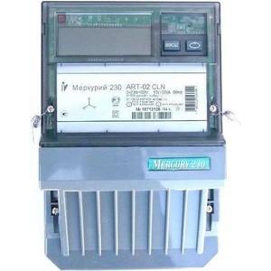 Счетчик электрической энергии Инкотекс Меркурий 230 ART-02 CLN 3ф 10-100А 1.0/2.0 класс точности многотарифный CAN PLCI ЖКИ Моск. вр. (33053)