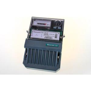 Счетчик электрической энергии Инкотекс Меркурий 230 АМ-03 3ф 5-7.5А 0.5s класс точности 1 тарифный импульсный выход механическое винт (32429) тарифный план