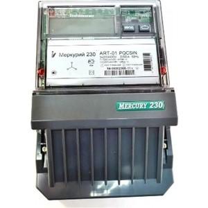 Счетчик электрической энергии Инкотекс Меркурий 230 ART-01 PQRSIN 3ф 5-60А 1.0/2.0 класс точности многотарифный RS485 ЖКИ Моск. вр. (32822)