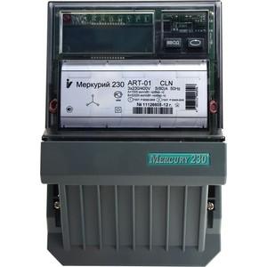Счетчик электрической энергии Инкотекс Меркурий 230 ART-01 CLN 3ф 5-60А 1.0/2.0 класс точности многотарифный CAN PLCI ЖКИ Моск. вр. (32458)